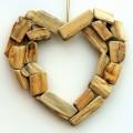 Деревянное украшение для дома, сердце - Wooden decoration for home, heart