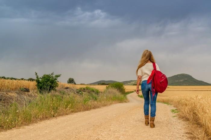 Puteshestvie avtostop devushka v pole Travel hitchhiking girl in the field 7360  4912 700x466 Путешествие, автостоп, девушка в поле   Travel, hitchhiking, girl in the field