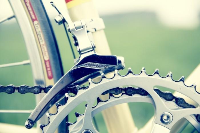Velosiped tsep shesternya karetka makro Bicycle chain gear carriage macro 5760  3840 700x466 Велосипед, цепь, шестерня, каретка, макро   Bicycle, chain, gear, carriage, macro