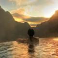 Курорт в горах, горячий бассейн, спа - Resort in the mountains, hot pool, spa