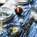 Сервировка, праздничный стол, драпировка стола - Serving, festive table, table draping