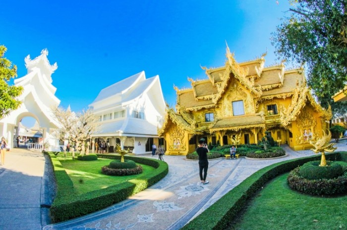 Бангкок, храмовый комплекс, архитектура, азия   Bangkok, temple complex, architecture, asia
