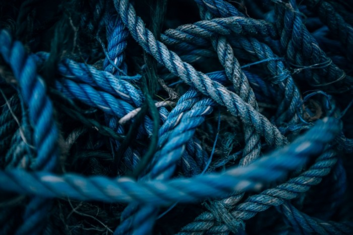 Kanat verevka makro siniy fon tros rope macro blue background rope 6000  4000 700x466 Канат, веревка, макро, синий фон, трос   rope, macro, blue background, rope