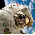 Космонавт на орбите, скафандр, космос, мкс - Astronaut in orbit, space suit, space, microseconds