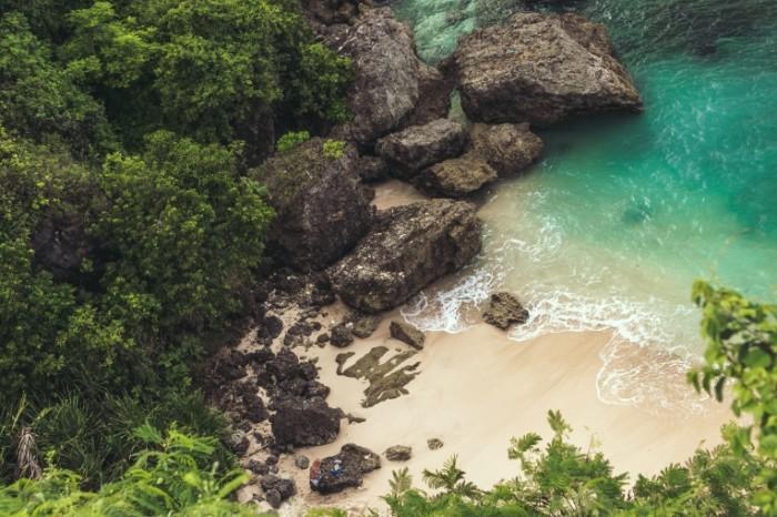 Gavan skalyi dzhungli poberezhe Harbor rocks jungle coast 6000h4000 700x466 Гавань, скалы, джунгли, побережье   Harbor, rocks, jungle, coast