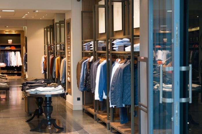 Магазин, одежда, бутик, свитера и куртки   Shop, clothes, boutique, sweaters and jackets