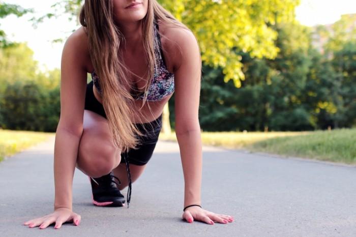 Пробежка, девушка, бег, здоровый образ жизни   Run, girl, running, healthy way of life