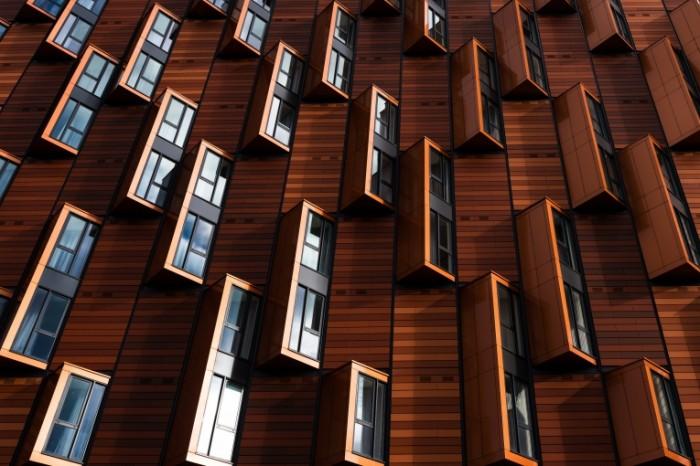 Современная архитектура, решение проблемы несолнечной стороны здания   Modern architecture, solving the problem of the non solar side of the building
