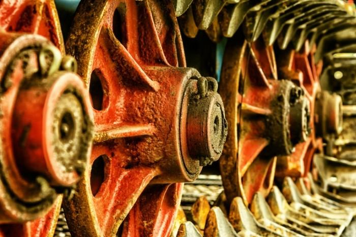 Tehnika gusenitsa traktor mehanizm Technics caterpillar tractor mechanism 5863  3909 700x466 Техника, гусеница, трактор, механизм   Technics, caterpillar, tractor, mechanism