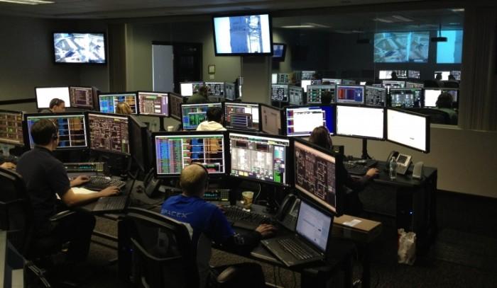 Центр управления, современные технологии   Control Center, modern technology