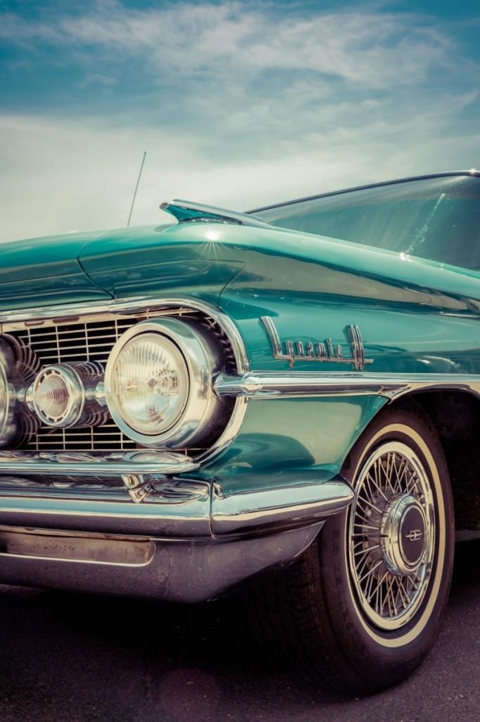 Старый американский классический автомобиль   Old american classic car