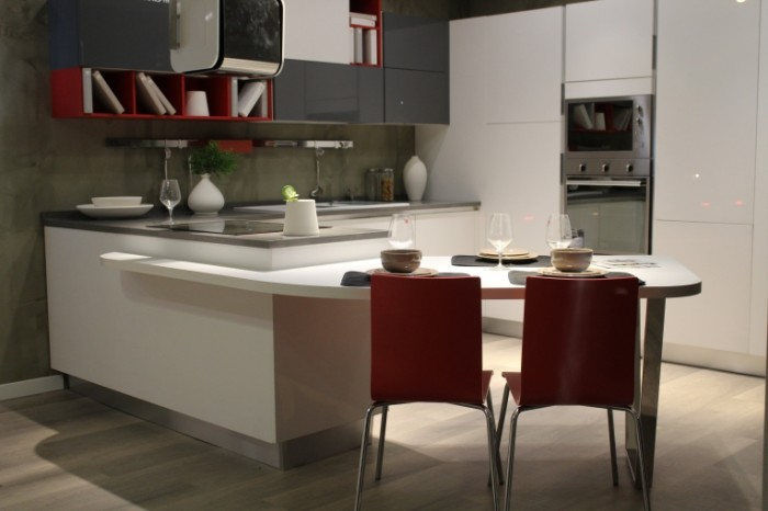 Vstroennaya kuhnya v sovremennom stile Fitted kitchen in modern style 5184  3456 700x466 Встроенная кухня в современном стиле   Fitted kitchen in modern style