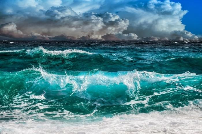 Volnyi okean morskie volnyi Waves ocean sea waves 7087  4724 700x465 Волны, океан, морские волны   Waves, ocean, sea waves